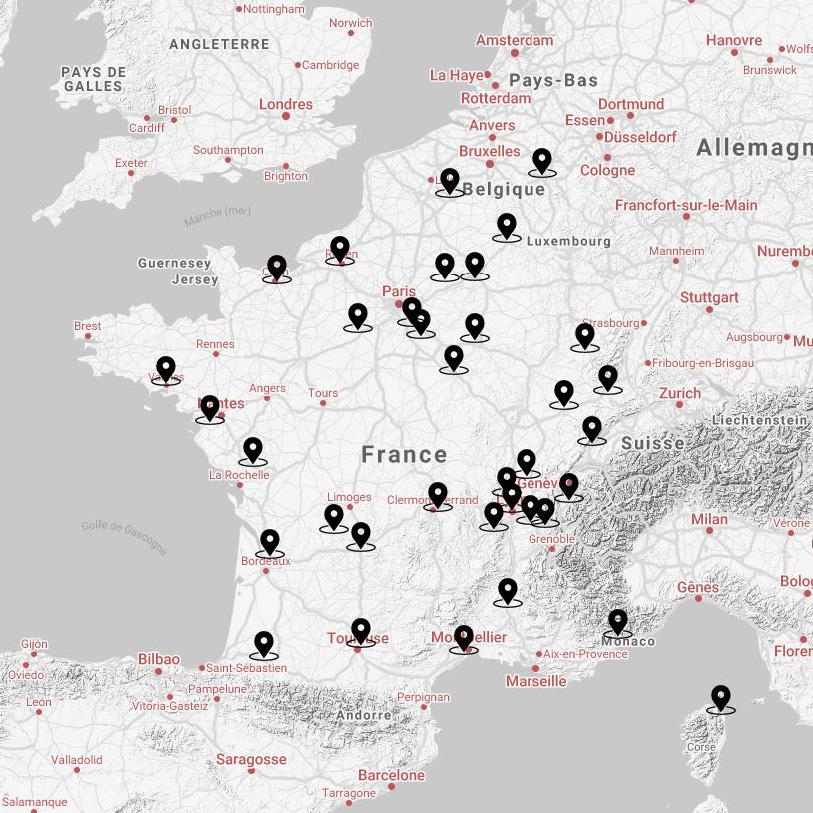 Le savoir-faire d'un réseau français d'artisans