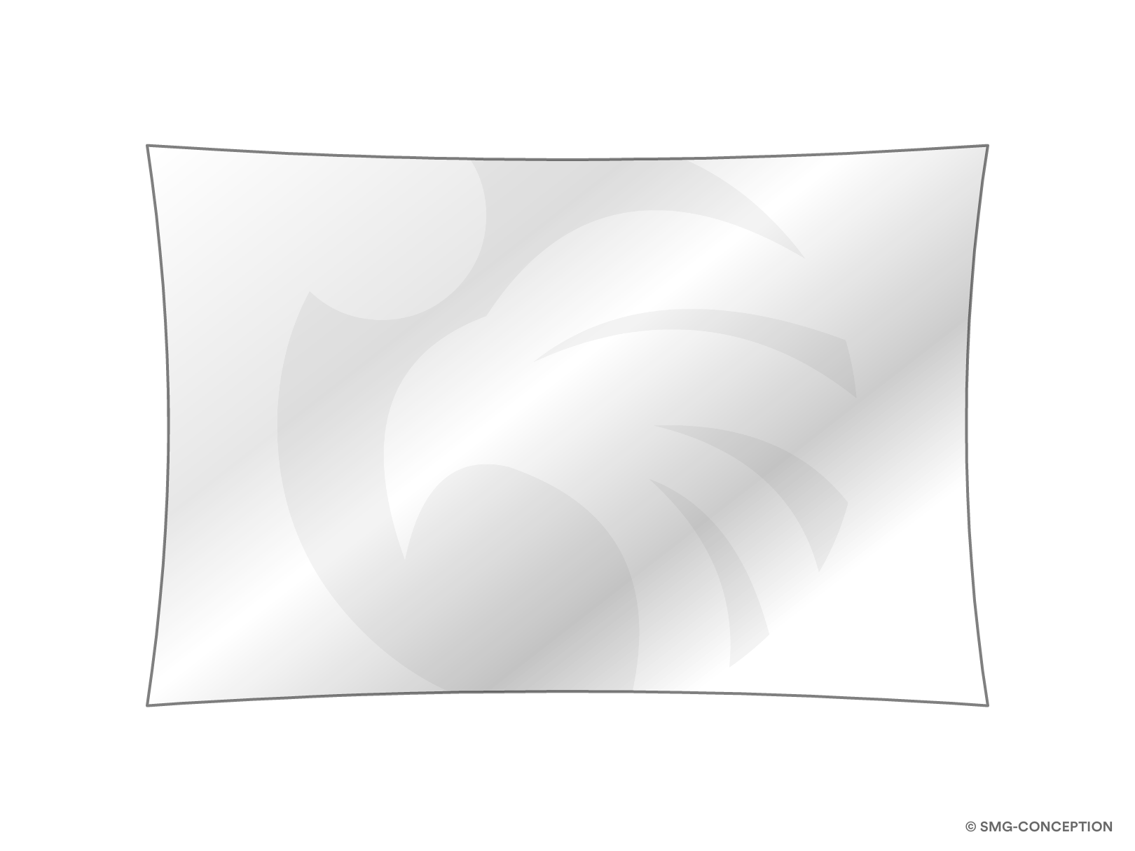 Voile d'ombrage rectangle sur mesure